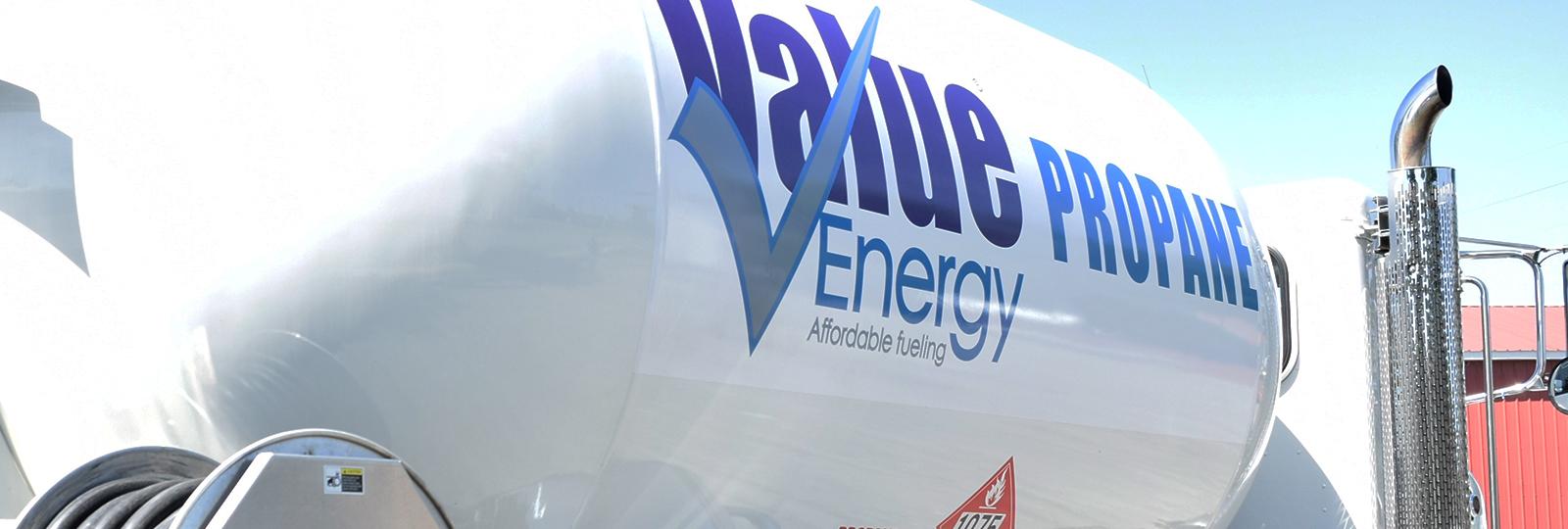 Value Energy Propane Truck